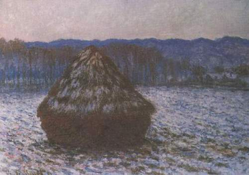 Monet - Haystacks [2]
